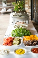 Southern Wedding BBQ Buffet